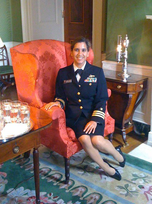 Shanti at white house
