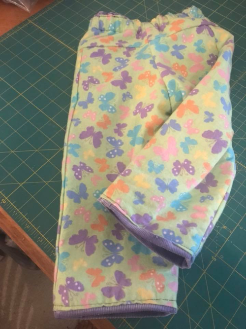 Flannel lining