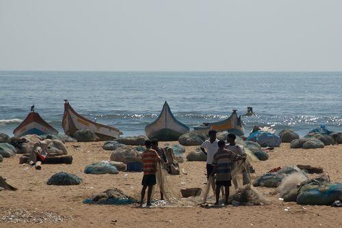 Beach Fishermen